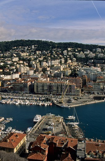 Stock Photo: 1606-167367 France, Nice, the harbour