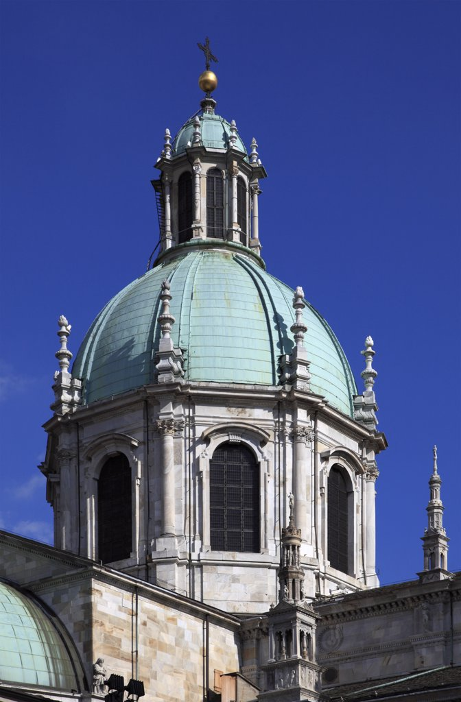 Italy, Lombardy, Como, Duomo, Cathedral, : Stock Photo