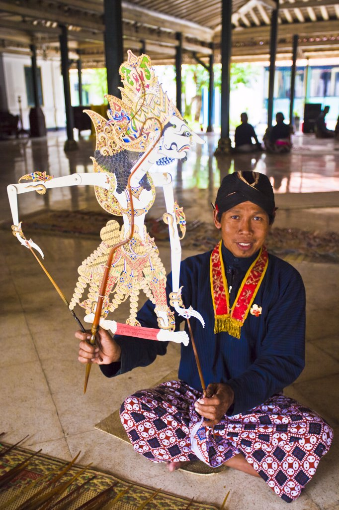 Stock Photo: 1606-170184 Indonesia-Jogjakarta City-The Kraton (Sultan Palace)-Puppet