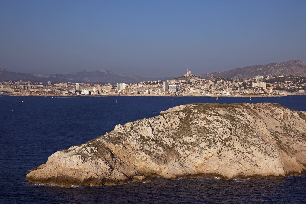 Stock Photo: 1606-171089 France, Bouches-du-Rhone, Marseille, view of the city