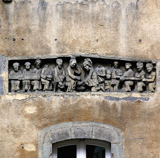 Stock Photo: 1606-17111 France, Auvergne, Puy de Dôme, Clermont-Ferrand, low relief