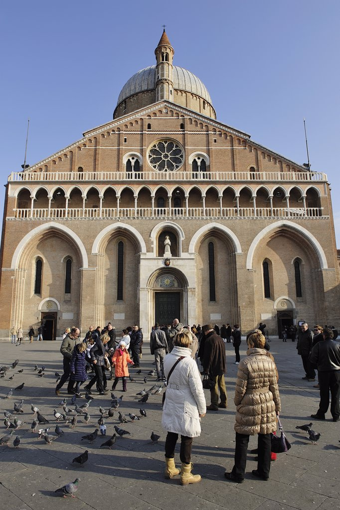 Stock Photo: 1606-172564 Italy, Veneto, City of Padua, City center, Saint Anthony Basilica