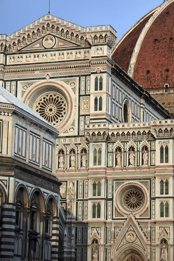 Stock Photo: 1606-179982 Italy, Tuscany, Florence, Duomo, Cathedral,