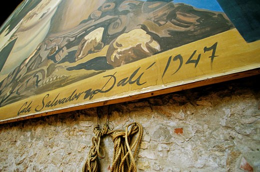 Spain, Catalogna, Figueres, Dali museum, indoors, detail : Stock Photo