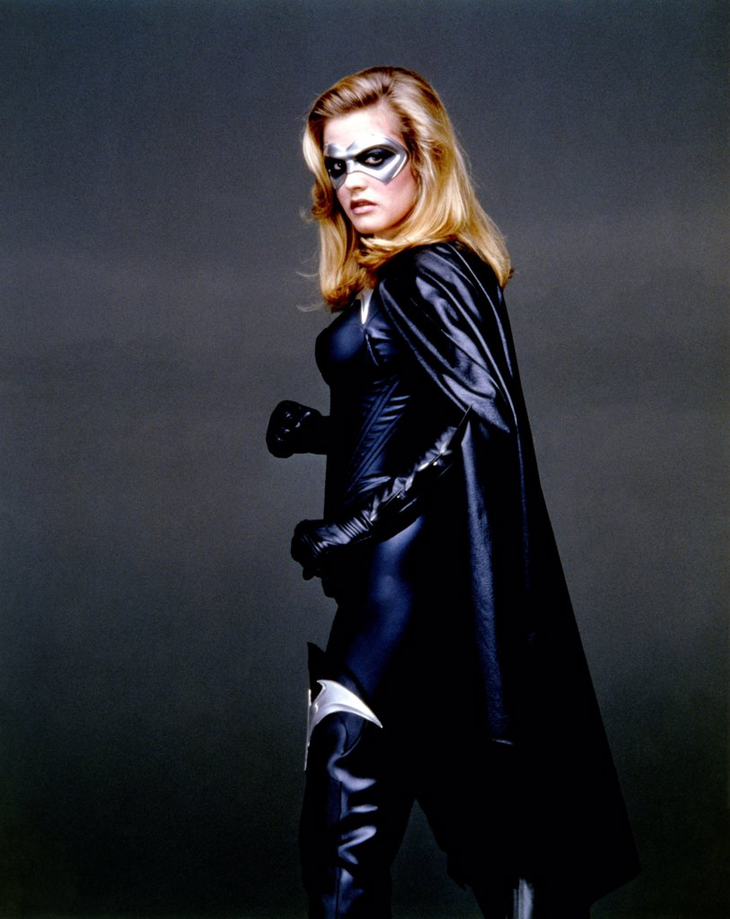 Alicia Silverstone , Batman & Robin , 1997 directed by Joel Schumacher (Warner Bros. Pictures) : Stock Photo