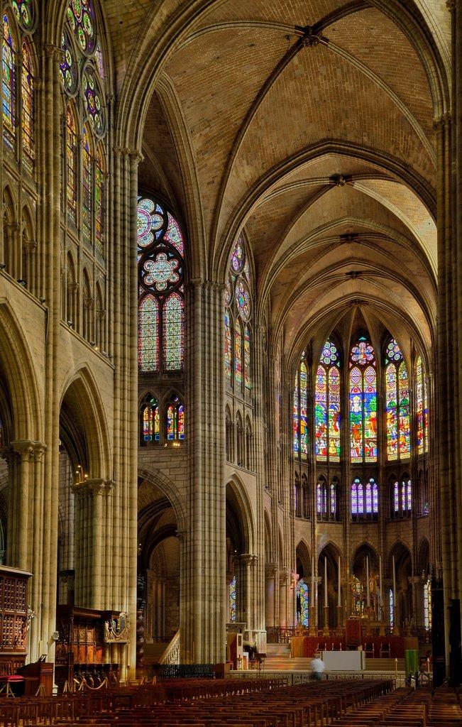 Stock Photo: 1606-185594 France, Seine Saint Denis, Saint Denis, the Saint Denis Basilica