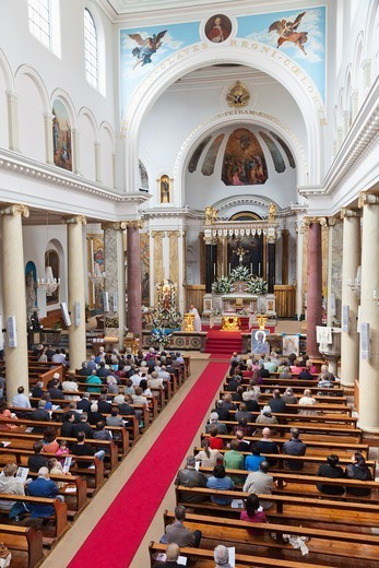 England,London,Clerkenwell,St Peter's Italian Church : Stock Photo