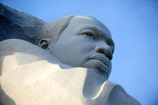 Stock Photo: 1606-190397 United States,USA,Washington DC,Martin Luther King Memorial