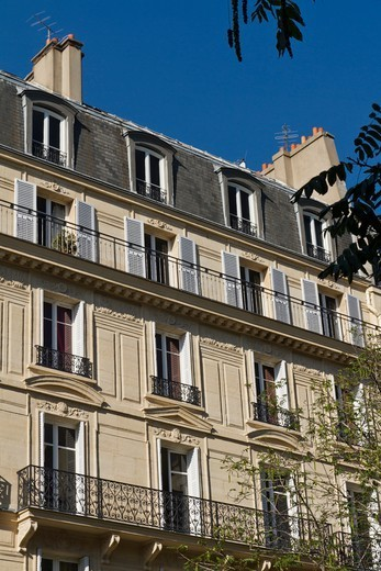 Stock Photo: 1606-194134 France, Paris, Building