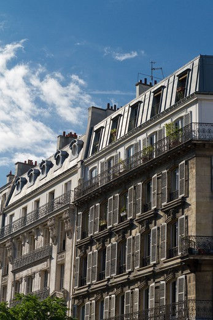 Stock Photo: 1606-194136 France, Paris, Building