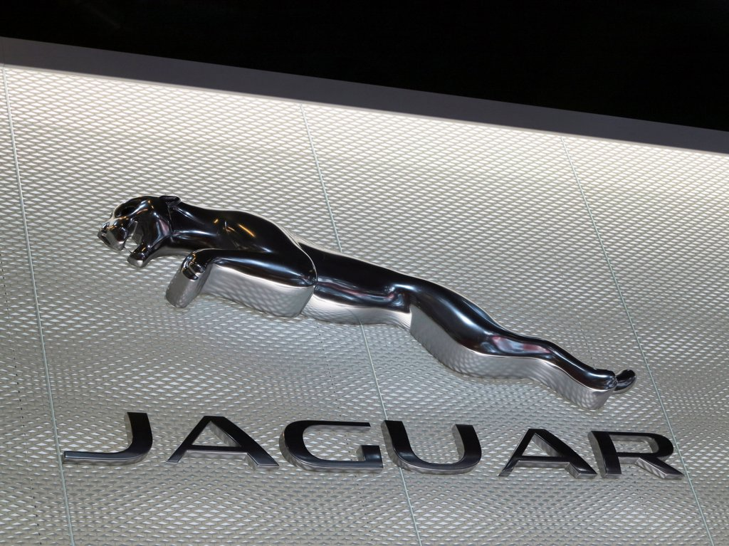 France. Paris. Auto Show 2012. Car Brand, Jaguar : Stock Photo