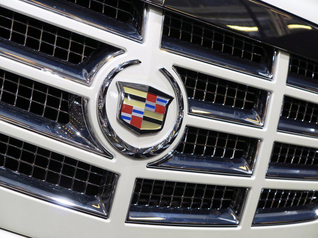 Stock Photo: 1606-195102 France. Paris. Auto Show 2012. Car, Cadillac Escalade Hybrid Platinum.
