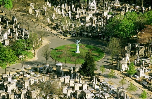France, Paris, Montparnasse cemetery : Stock Photo