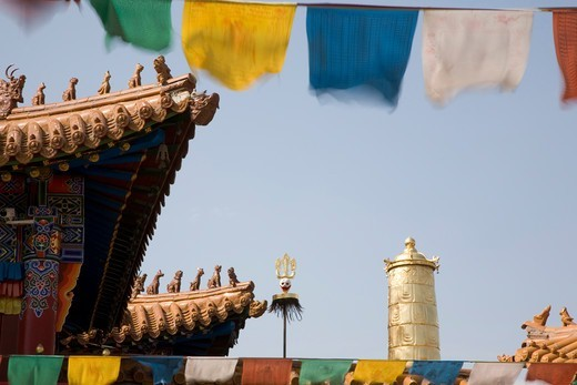 Stock Photo: 1606-195589 China, Inner Mongolia, Hohhot, Da Zhao Lamasery, 06/08/2012