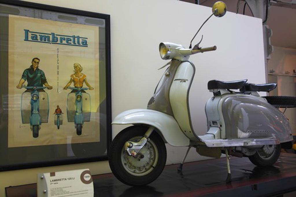France, Poitou-Charentes, Vienne (86), Chatellerault, La Manu Site, Auto, Moto, Velo Museum : Stock Photo