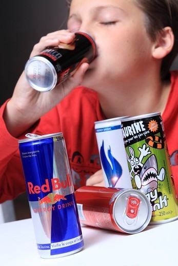 France, Energy Drinks : Stock Photo