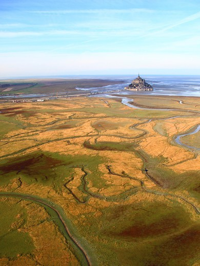 Stock Photo: 1606-197372 France, Normandy, Mont Saint-Michel.