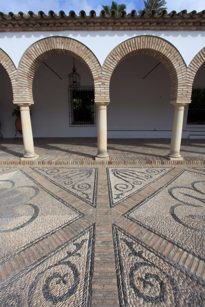Spain, Andalusia, Cordoba,  Palacio De Viana, Patio, : Stock Photo