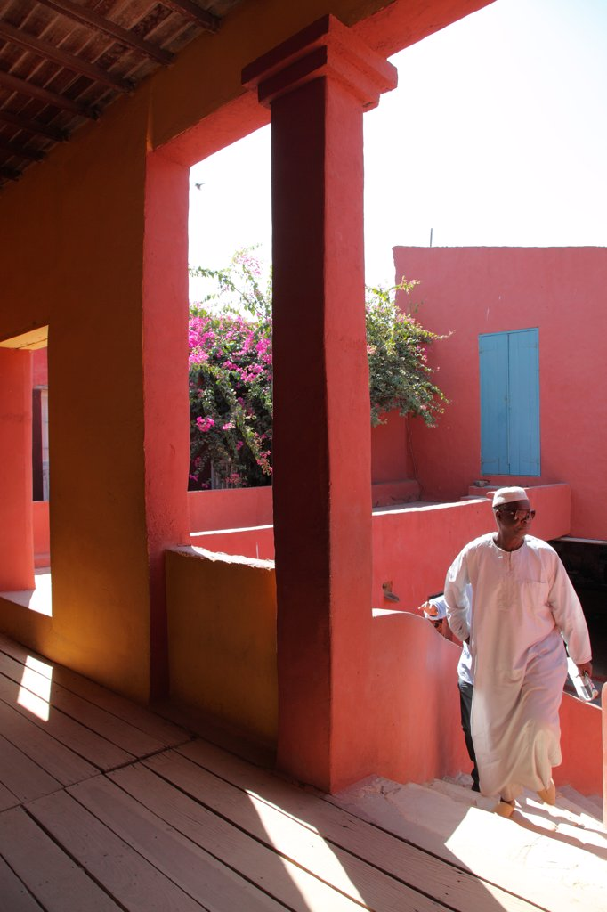Stock Photo: 1606-203375 West Africa, Senegal, Dakar, Goree Island (Unesco World Heritage), House Of Slaves