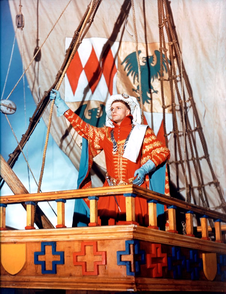 Laurence Olivier, Henry V, 1944 directed by Laurence Olivier (Two Cities Films, United Artist) : Stock Photo