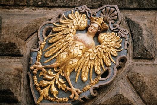 Stock Photo: 1606-22403 Germany, Bavaria, Nuremberg, emblem