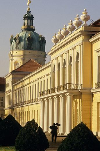 Stock Photo: 1606-22538 Germany, Berlin, Charlottenburg castle, Knobelsdorff wing