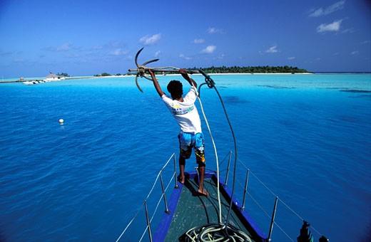 Stock Photo: 1606-22991 Maldives, Ari atoll, Rihiveli island