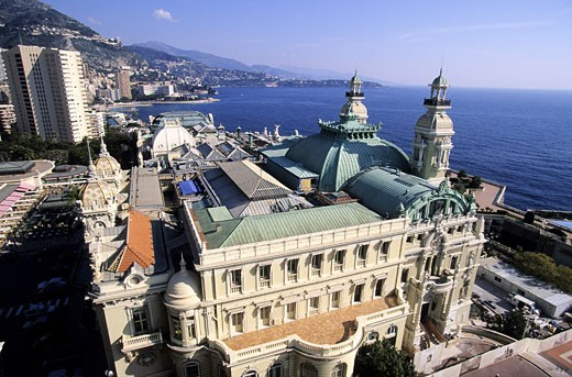 Stock Photo: 1606-24112 Monaco Principality, the Casino (Société des Bains de Mer of Monte Carlo)