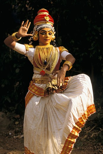 Stock Photo: 1606-24914 India, Kerala, Kuttiyattam performance