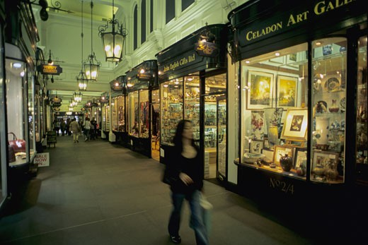 Stock Photo: 1606-30331 England, London, Picadilly, Princes Arcade shopping