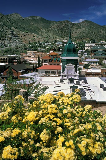 Stock Photo: 1606-30796 USA, Arizona, Bisbee, city, Pythian Castle