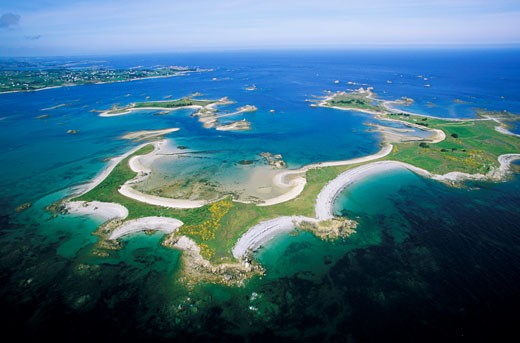 Stock Photo: 1606-39818 France, Brittany, Cotes d'Armor, Er island, between Perros Guirec and Paimpol