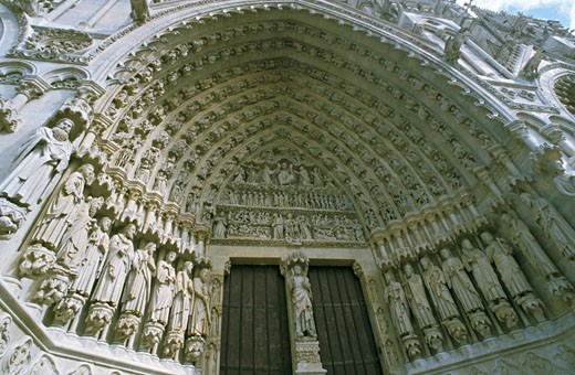 Stock Photo: 1606-40385 France, Amiens, cathedral