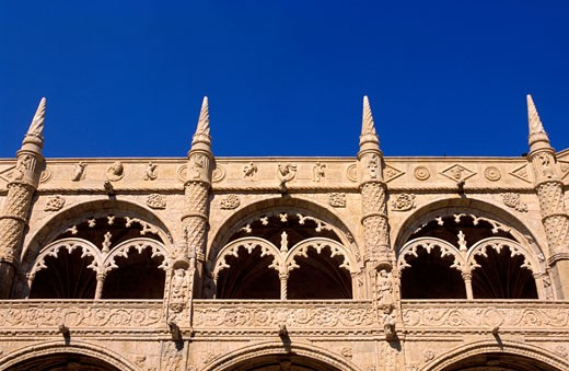 Portugal, Lisbon, Jeronimos Monastery : Stock Photo