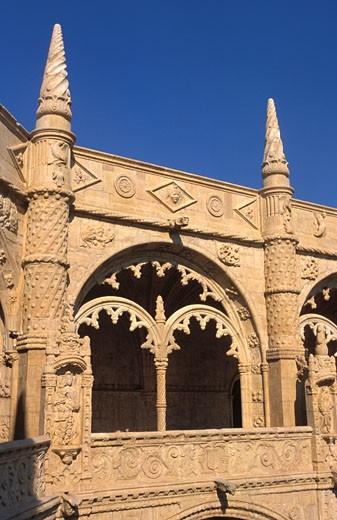 Portugal, Lisbon, Jeronimos Monastery : Stock Photo