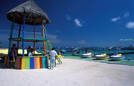 Mexico, Cancun, beach : Stock Photo