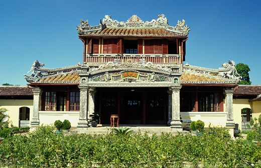 Vietnam, Hue, palace : Stock Photo
