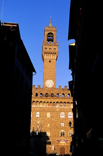 Stock Photo: 1606-41151 Italy, Tuscany, Florence, the Palazzo Vecchio and Arnolfo tower