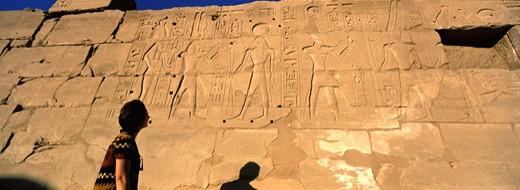 Stock Photo: 1606-44495 Egypt, Luxor, Karnak termple
