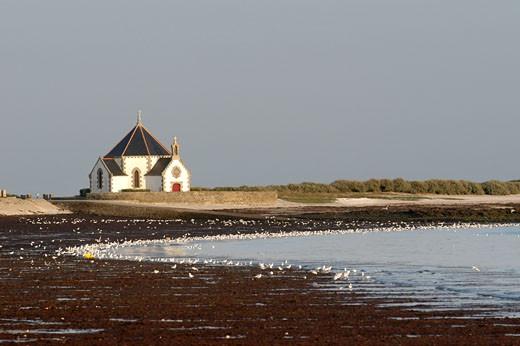 France, Britanny, Morbihan, Rhuys peninsula, chapel : Stock Photo