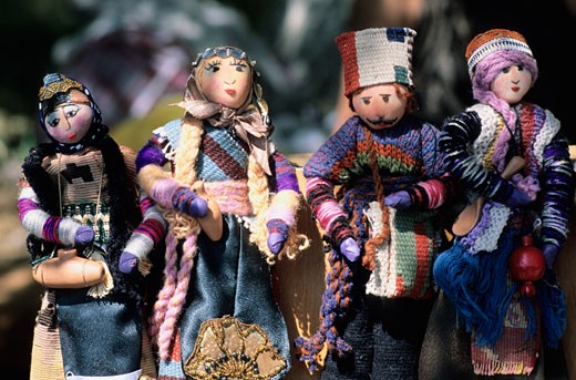 Armenia, Erevan, traditional dolls : Stock Photo