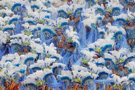 Stock Photo: 1606-48468 Brazil, Rio de Janeiro, carnaval