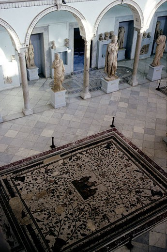Stock Photo: 1606-55265 Tunisia, Tunis, Bardo national museum, Carthage room