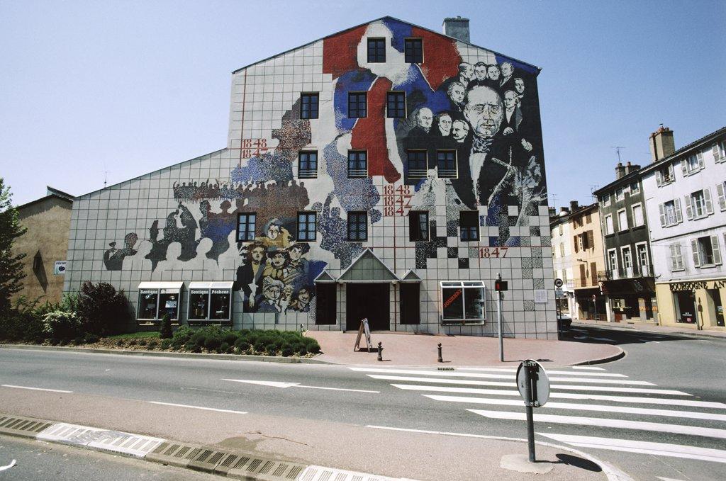 France, Burgundy, Saône et Loire, Mâcon : Stock Photo