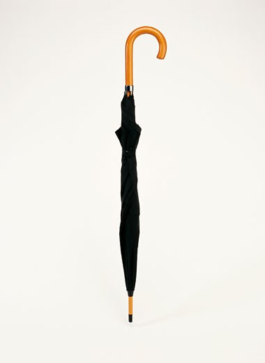 Stock Photo: 1606-59660 Black umbrella