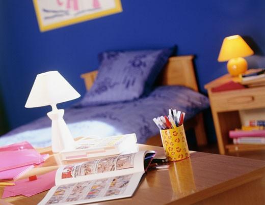 Stock Photo: 1606-60053 Child room, indoors