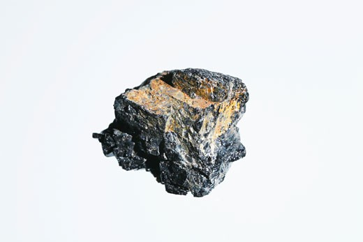 Black tourmaline : Stock Photo