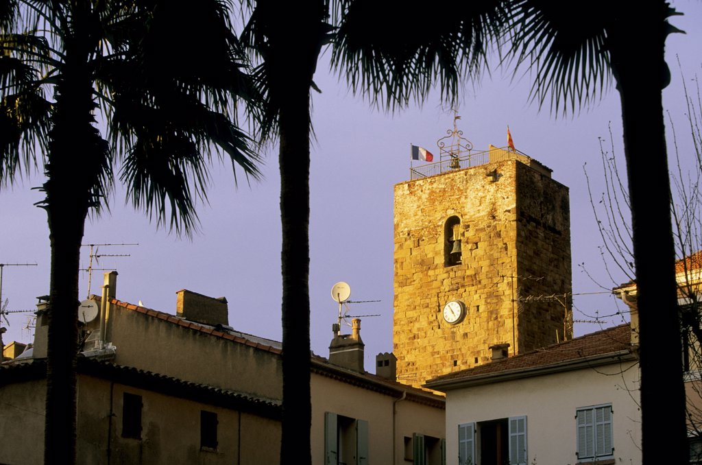 Stock Photo: 1606-61762 France, Provence-Alpes-Côte d'Azur, Var, St Raphael, Templiers Tower