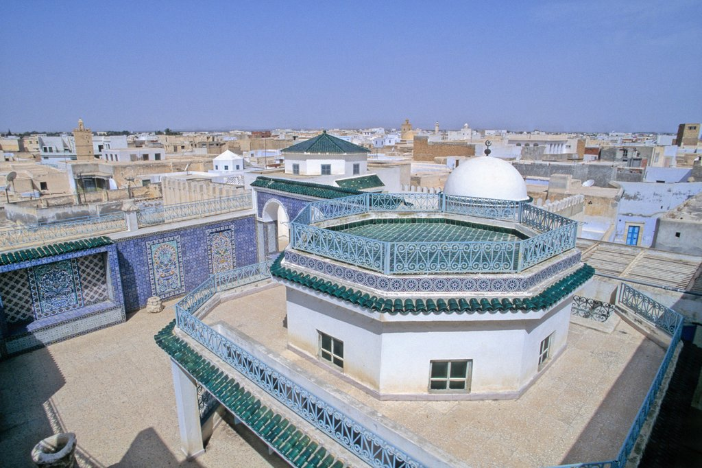 Tunisia, Kairouan, medina (Unesco World Heritage) : Stock Photo