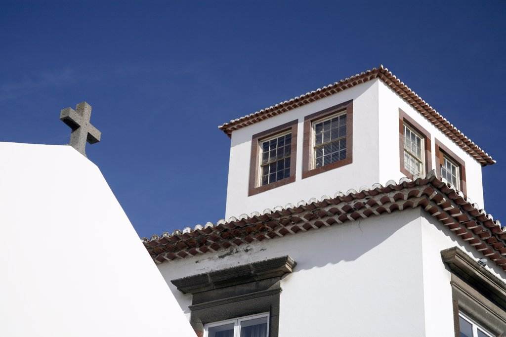 Madeira, Funchal, roofs : Stock Photo